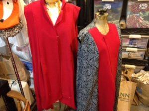 red wool coat 1