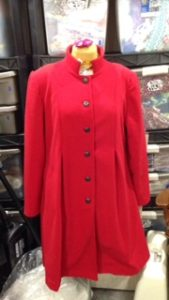 red wool coat 2