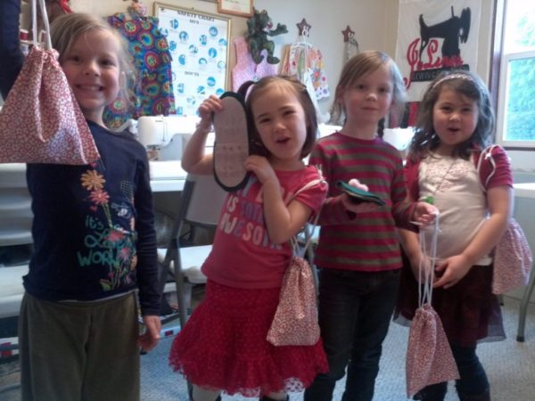 kids sewing class
