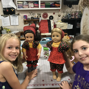 Dress a doll camp