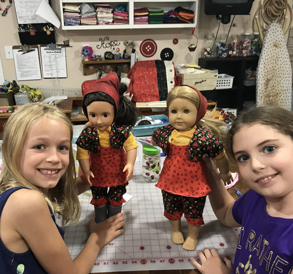 Dress a doll camp