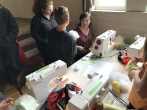 sewing celebration